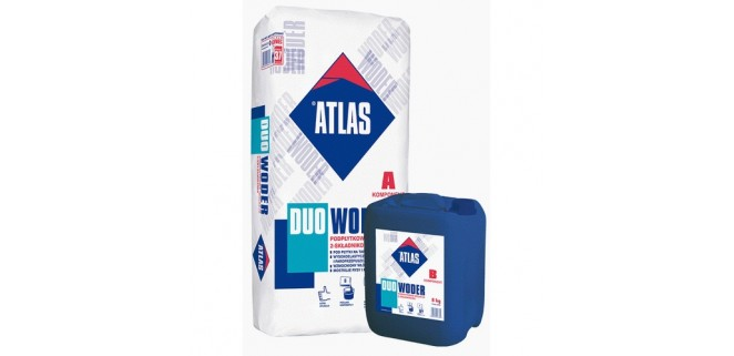 ATLAS WODER DUO эластичная гидроизоляционная смесь 32 кг
