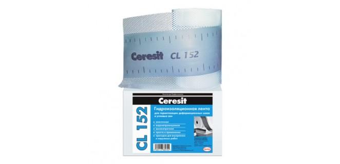 Ceresit CL 152 Лента гидроизоляционная 10 м
