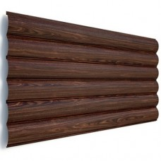 Блок хаус (сруб) - металлический сайдинг Термастил