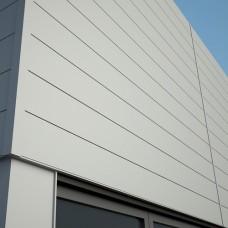 Либерти бесшовная - металлическая фасадная панель