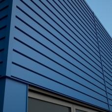 Стрейт - металлическая фасадная панель