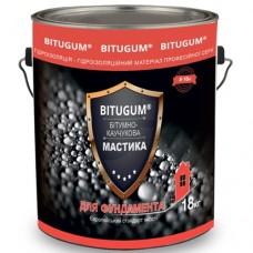 Мастика для фундамента битумно-каучуковая BITUGUM 18 кг