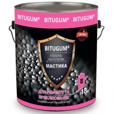Каучуковая мастика клеящая (для битумной черепицы) BITUGUM 5кг