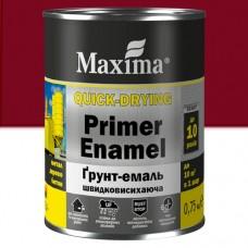 Грунт-эмаль Maxima 2,5 кг вишневая