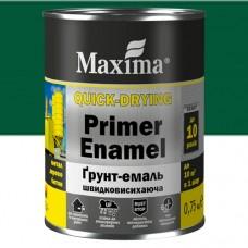 Грунт-эмаль Maxima 0,75 кг зеленая