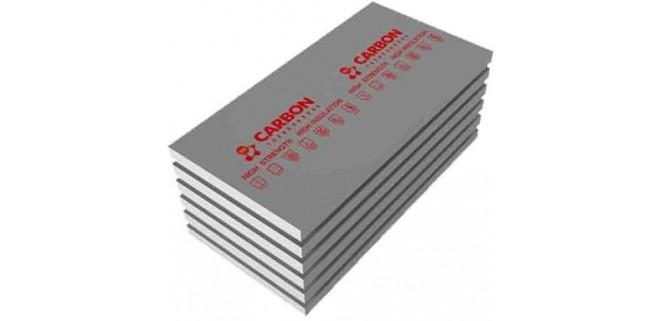 Пенополистирол 100 мм 1,18*0,58 м CARBON ECO (4 шт/пачка)