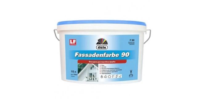 Краска фасадная DUFA Fassadenfarbe F90 5 л