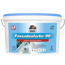Краска фасадная DUFA Fassadenfarbe F90 10 л