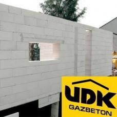 Ячеистые газобетонные блоки ЮДК - теплый, легкий стеновой материал