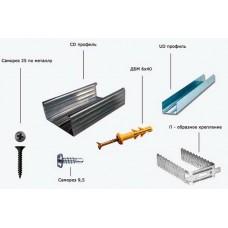 Крепежные элементы и комплектующие для гипсокартона. Часть I