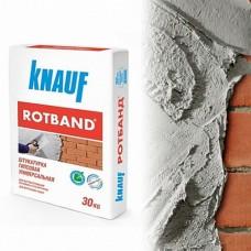 Универсальная гипсовая смесь Кнауф Ротбанд – область применения, характеристики