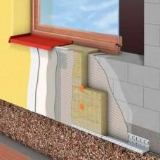 Этапы выполнения утепления фасада
