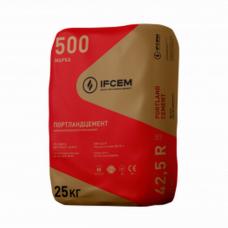 Цемент ПЦ I-500-Д0-Н (25 кг) Ивано-Франковск (заводская тара)
